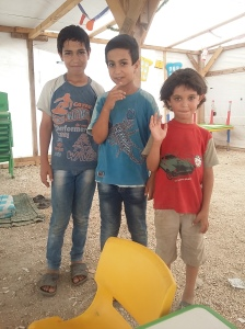 Ahmad, Hamad and Faraz from Homs