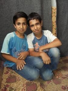 Ahmad and Hamad from Homs